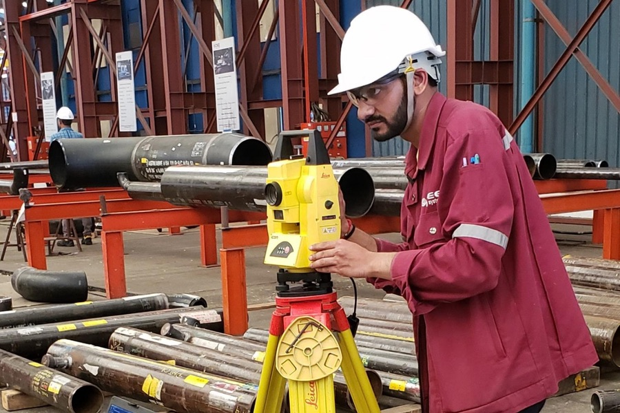 ML Tech Customer Dee Piping using the automet® FAB measurement software with Leica hardware at a pipe manufacturing facility in Thailand